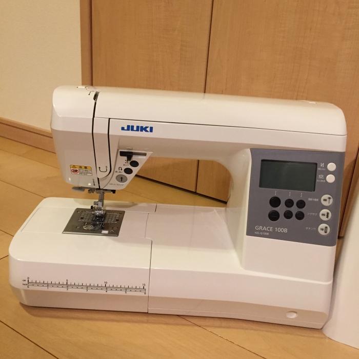 JUKI 家庭用コンピュータミシン HZL-G100B