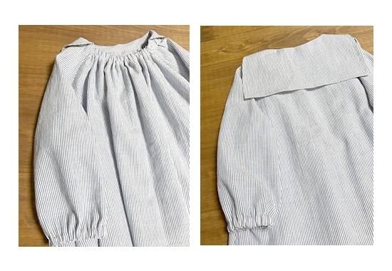 NPブラウス セーラー衿