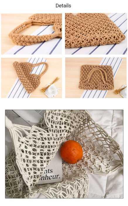 Baginning 編みバッグ