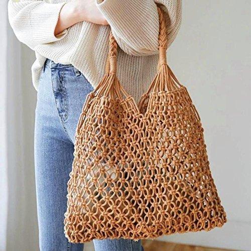 ハンドメイド Baginning 編みバッグ