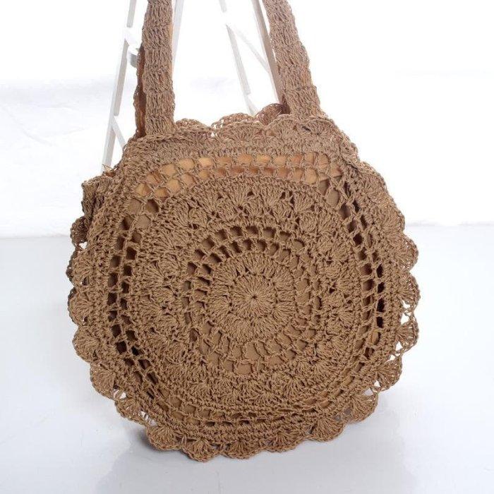 Baginning編みバッグ