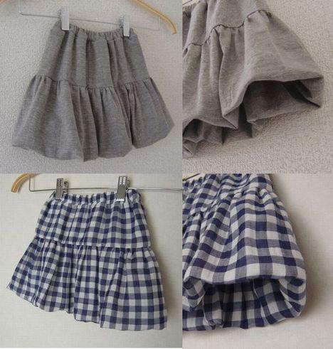 ティアードバルーンスカート【Kids】