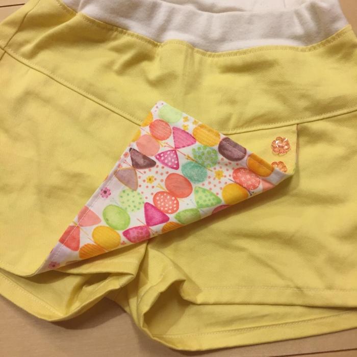 スカートパンツ・巻きスカート