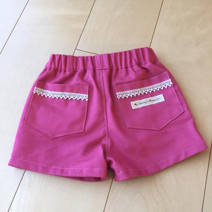 ホットパンツ ピンク