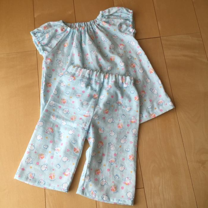 お泊り保育用パジャマ