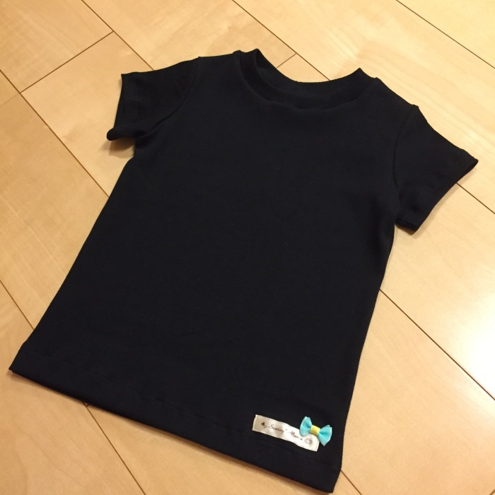 黒 Tシャツ まいにち着る女の子服