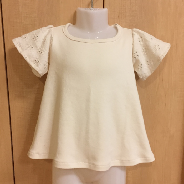 オリジナル型紙 フリルTシャツ 2 100サイズ