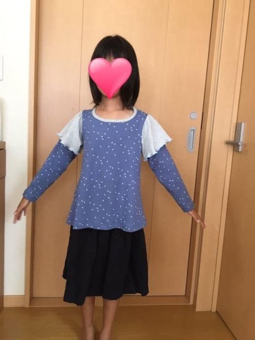 フリルTシャツ 130サイズモニター1